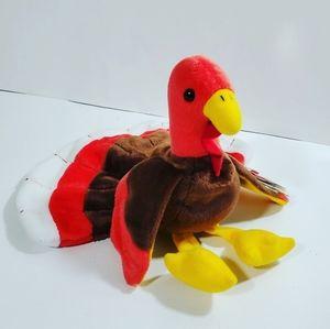 Gobbles Ty Beannie baby Turkey